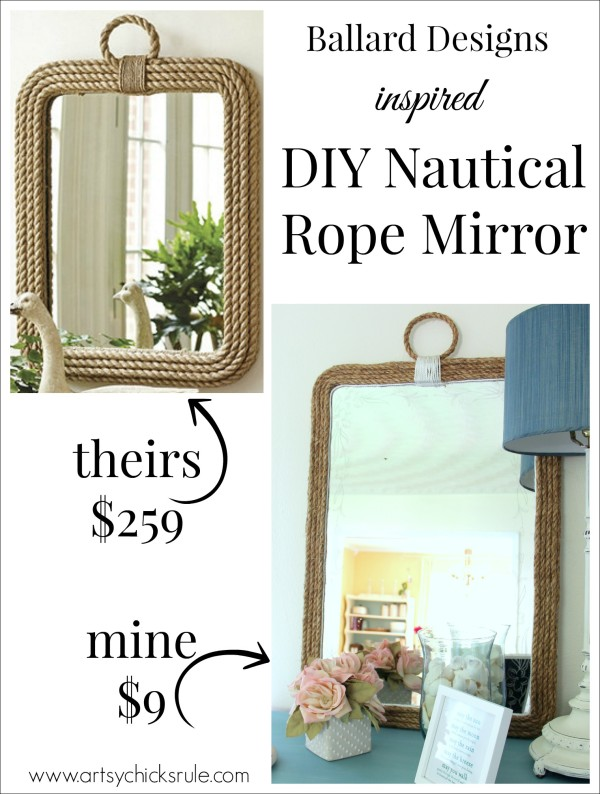 DIY-Nautical-Rope-Mirror-Inspired-by-Ballard-Designs-Hot-Glue-Rope-thrifty-inspiredby-artsychicksrule-600x794